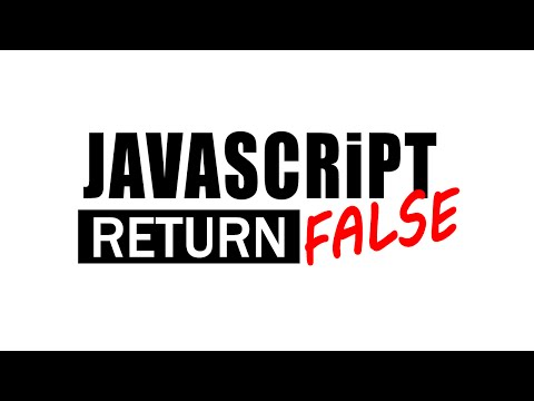 javascript onclick return false - How to use it