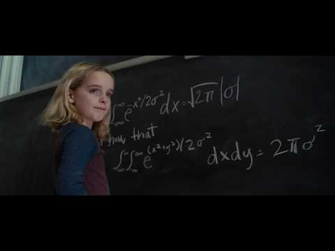 Gifted Movie 2017     Mary Solve the Maths Problem and Surprises the Teacher 1080p