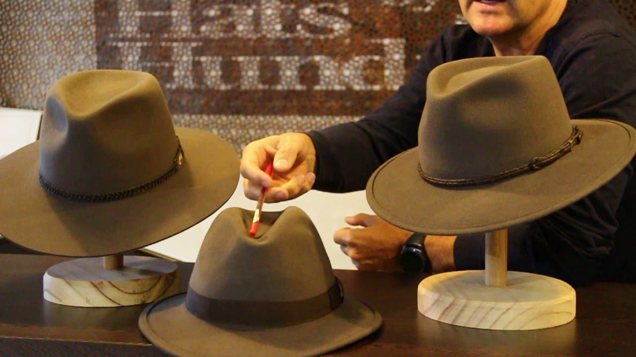 Akubra Travel Hats - - Hats By The Hundred - YouTube 5199a8c15dbf
