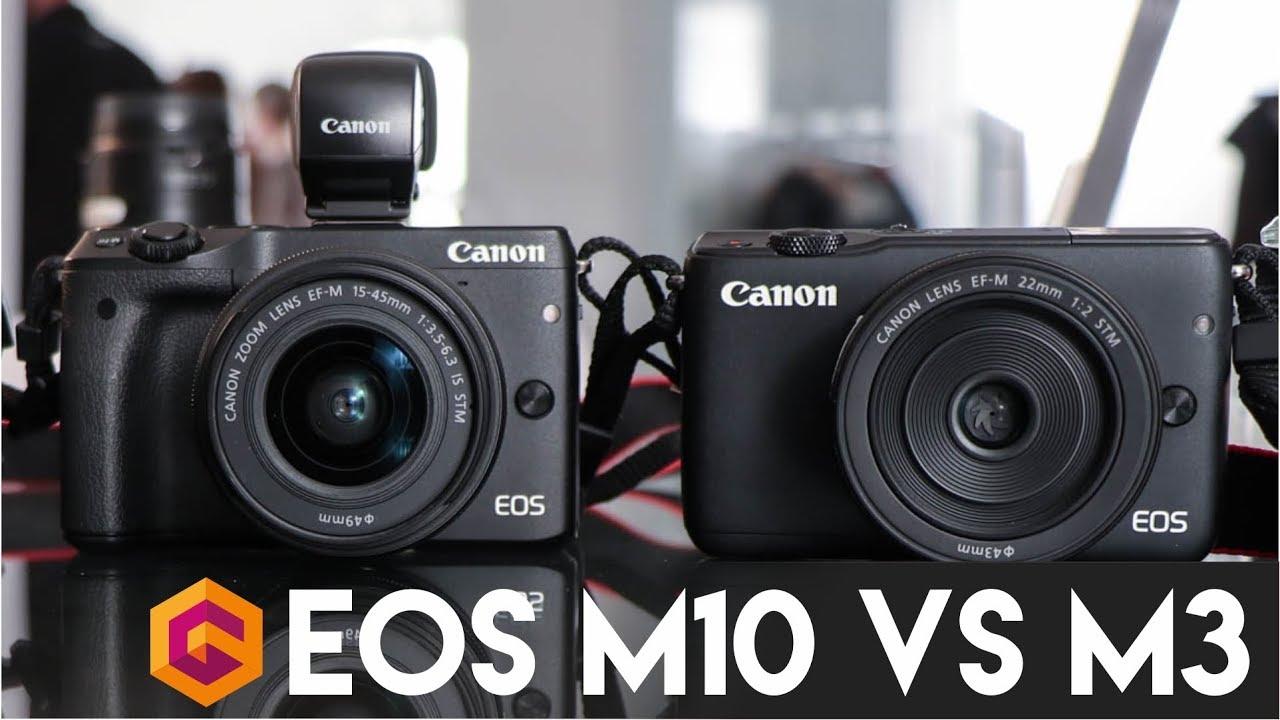 Kelemahan Canon EOS M10 Dibanding Canon EOS M3