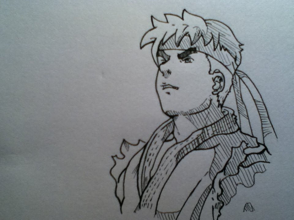Prismacolor Speed Draw Ryu Street Fighter Alpha Youtube