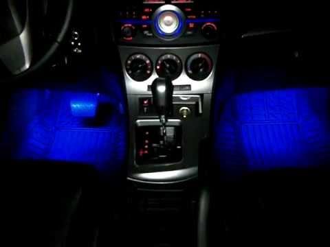 DIY Mazda 3 2010 Footwell LEDs Sound Mode YouTube