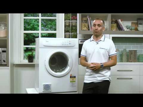 Midea MDV07 7kg Vented Dryer Overview - Appliances Online