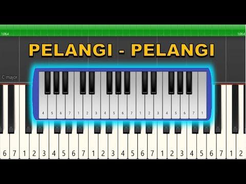 Not Pianika / Not Piano Pelangi - Pelangi (Tutorial)
