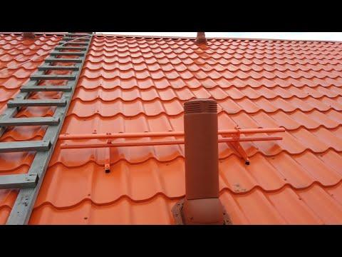 Как защитить трубу от схода снега с крыши