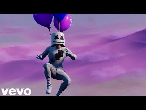 Marshmello FLY - Fortnite Music Video Parody