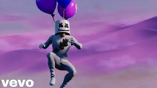 Marshmello FLY - Fortnite Music Video Parody Video