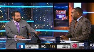 GameTime - Raptors vs 76ers Postgame Talk | December 5, 2018