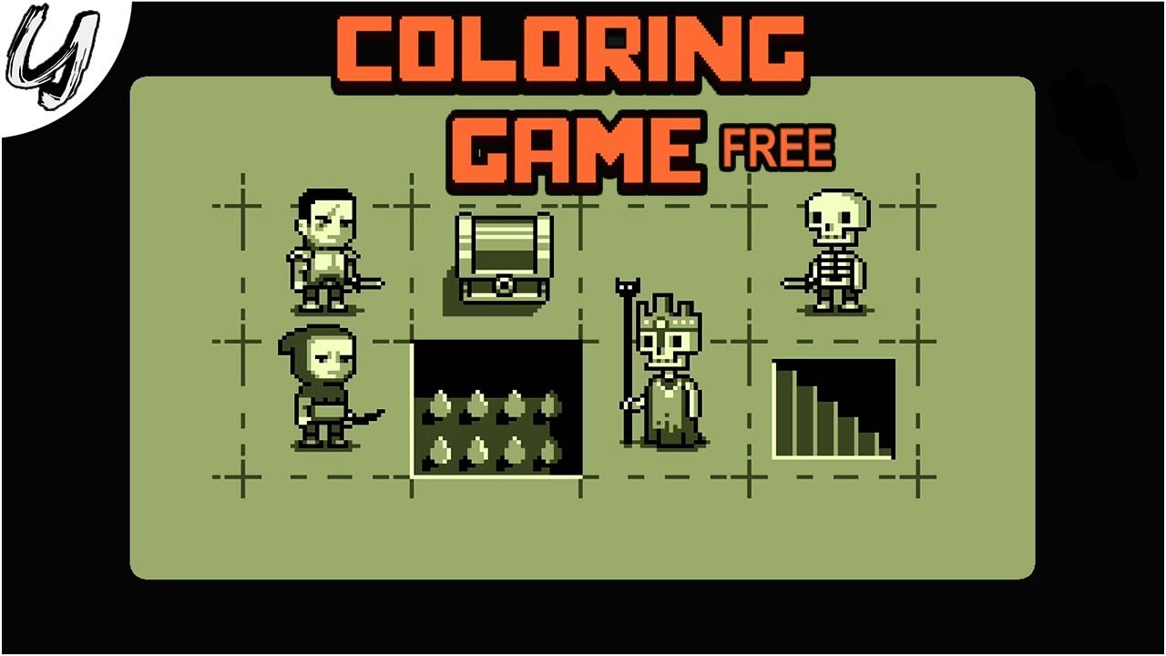 Coloring Game | Gameplay | Indie / Free to Play / Art