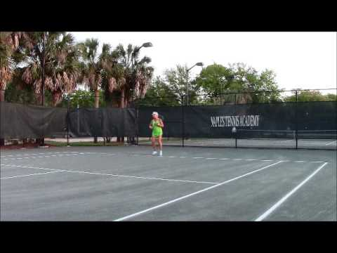 hitting forehands with jason on april 11 2016 at pelican bay community park