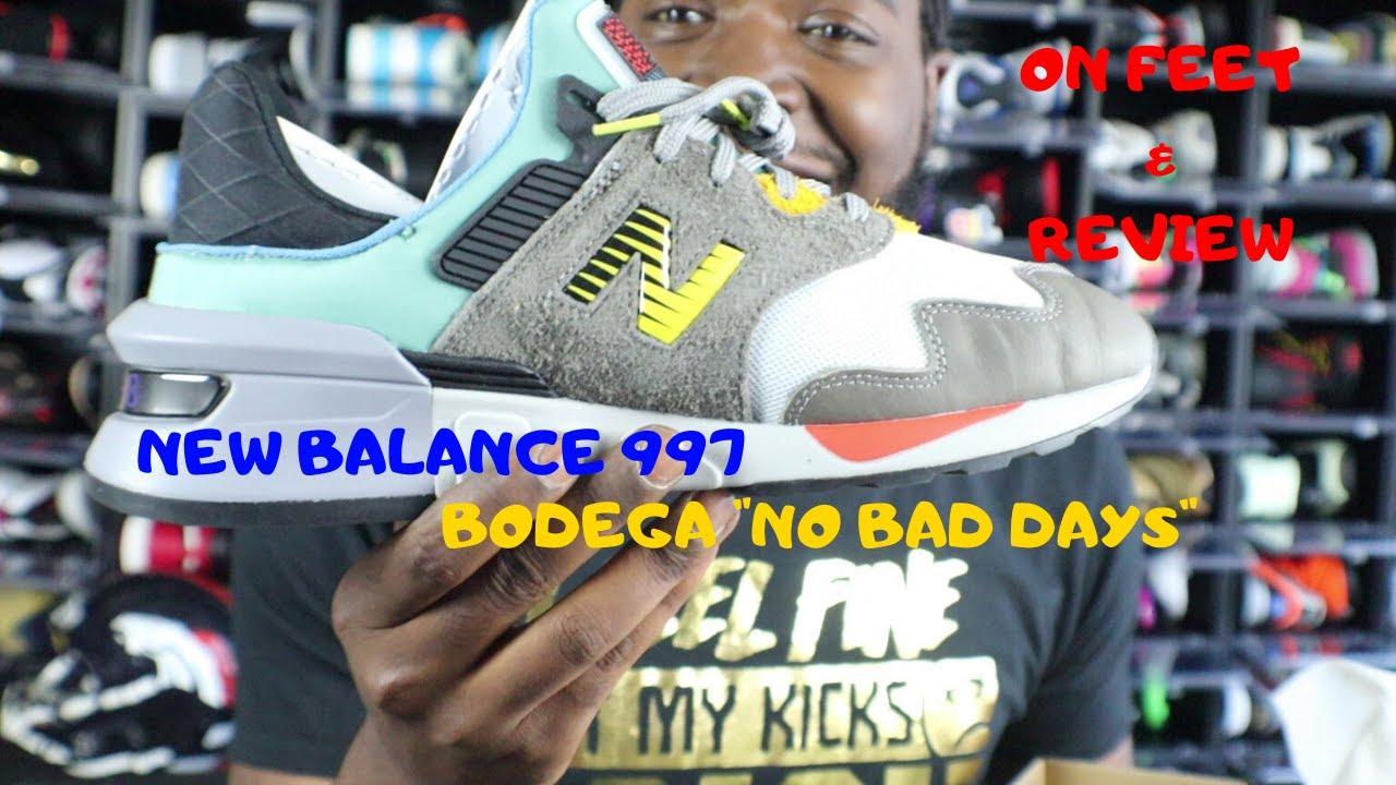 new balance bodega 997s no bad days