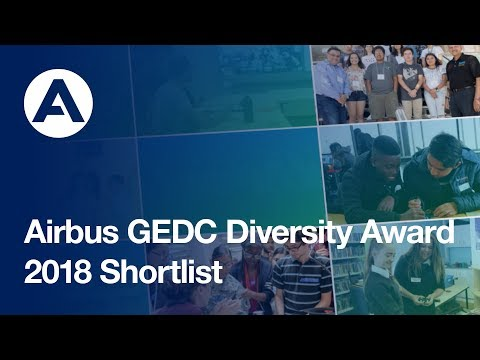 Airbus GEDC Diversity Award 2018 Shortlist