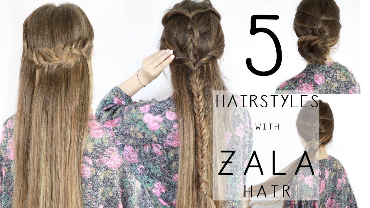 acconciature capelli con extension a clip