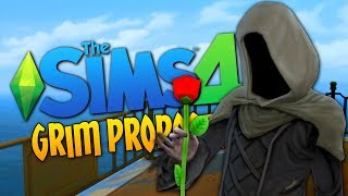 THE GRIM REAPER PROPOSES - Sims 4 Funny Moments #17