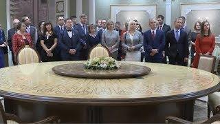 Дворец Независимости посетили лучшие учителя Беларуси