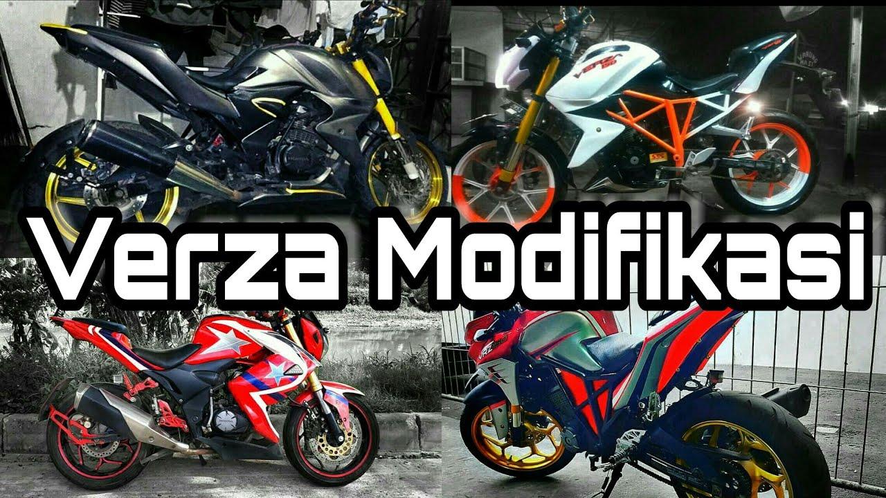Kumpulan Modifikasi Honda Verza Keren Pangeran Modifikasi