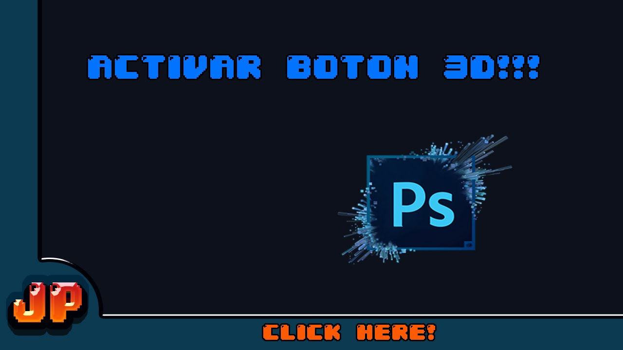 activar 3d en photoshop cs6 mac