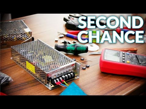 Repairing cheap power supplies!