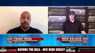 Before the Bell with Nick Kalikas and Frank Trigg - UFC on Fox 18