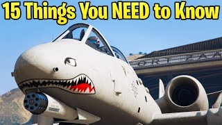 15 Things You NEED to Know About the B-11 Strikeforce Plane in GTA Online