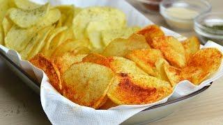 Cómo Hacer Patatas Chips Caseras
