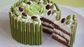 抹茶ポッキーケーキ|cook kafemaruさんのレシピ書き起こし
