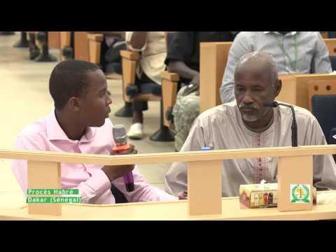 Procès Hissein Habré   Témoin : Bichara Djibrine Ahmat  (08.12.2015) Part 3