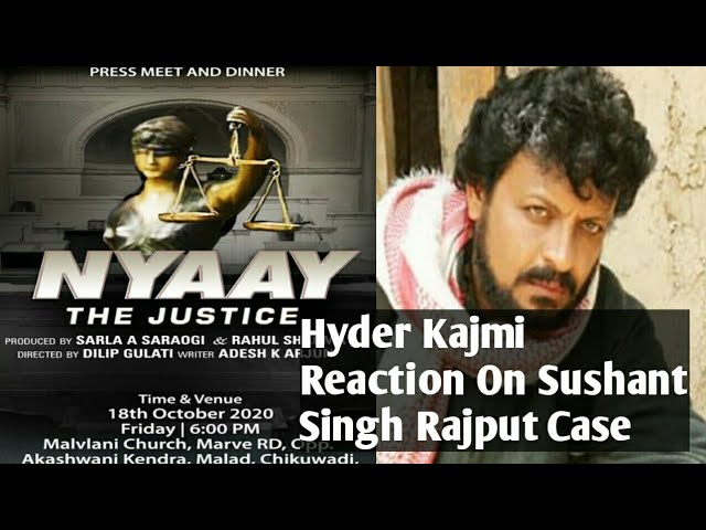 Hyder Kazmi REACTION On Kangna & Jaya Bachchan CONTROVERSY || SSR JUSTICE