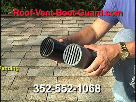 Roof Vent Boot Guard Youtube