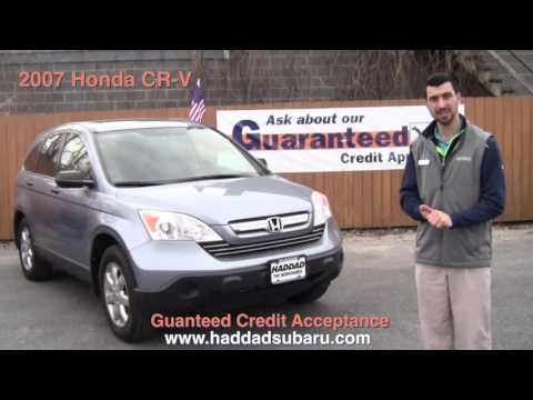 Guaranteed Credit Acceptance On This 2007 Honda CR-V | Pittsfield MA