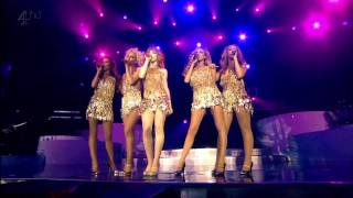 [HD] Girls Aloud - Call The Shots (2008 Tangled Up Tour Live from the O2)