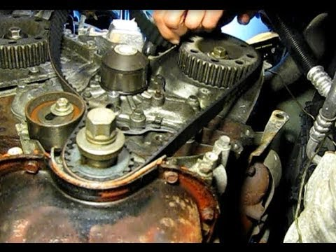 Dodge Caravan 30L replacing timing belt water pump and front – Dodge 3.0l Engine Diagram