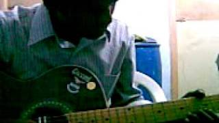 Airtel tune on Guitar