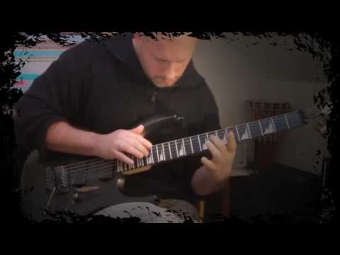 JS Bach -  Prelude in C Minor -  BWV 847 (Metal Guitar Tapping)