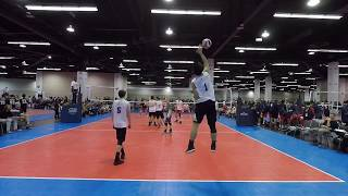 Michael Zhu Setter #1 AAU Anaheim Highlights