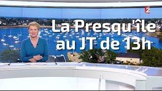 La Presqu'île de Rhuys au JT du 13h de France 2