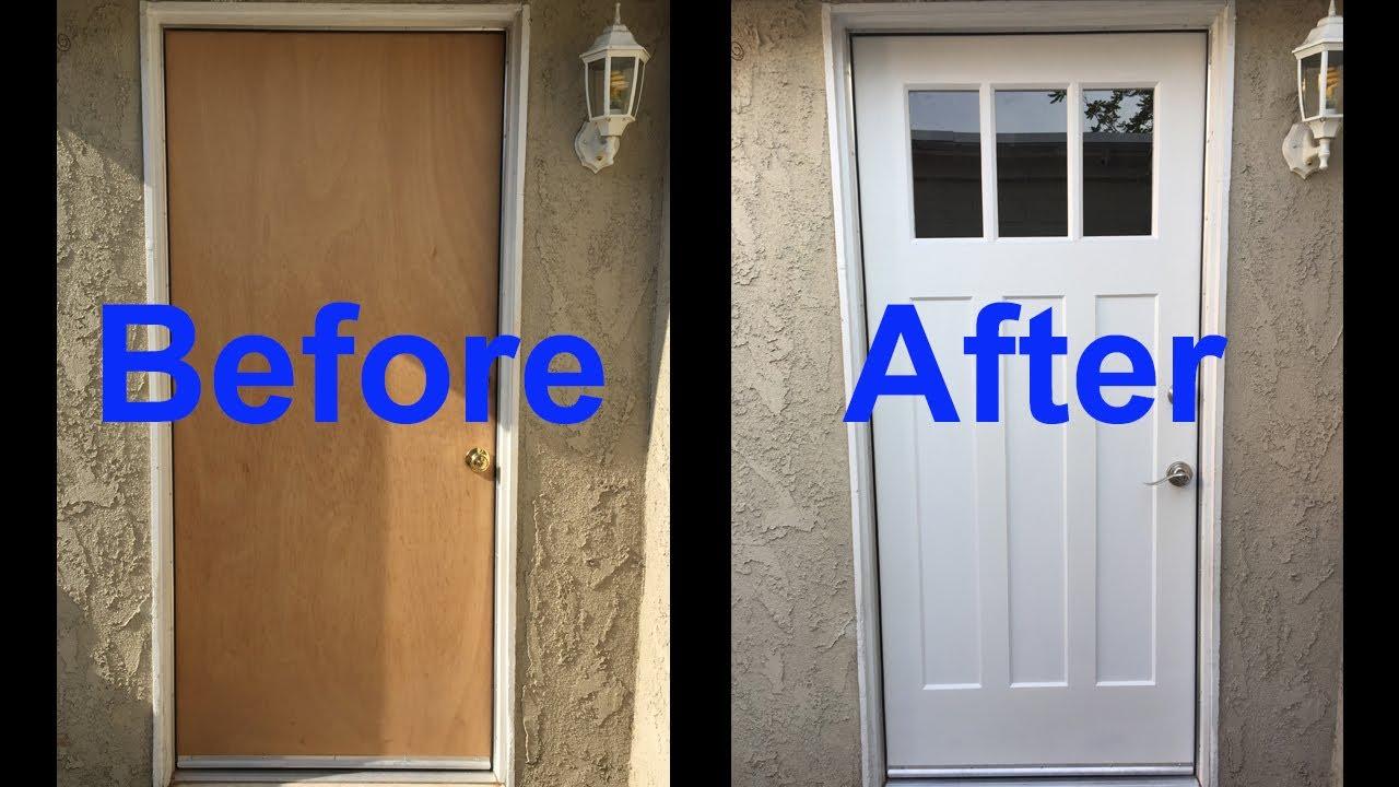 Exterior Solid Core Door to Fabulous Custom Door Part 1 ...
