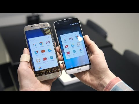 Samsung Galaxy S7 vs. LG G5: two of 2016's biggest phones face off