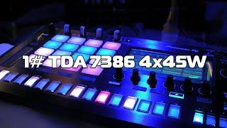DDP - авто усилитель TDA7386 из старой магнитолы #1