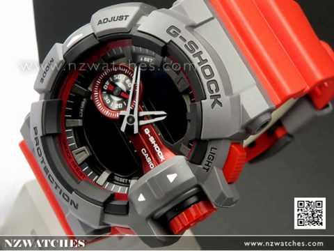 Casio G-Shock 200M Analog Digital Sport Watch GA-400-4B f2a6ed7211a0