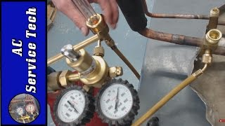 How to Braze with Nitrogen! The Process up Close from Start to Finsh!