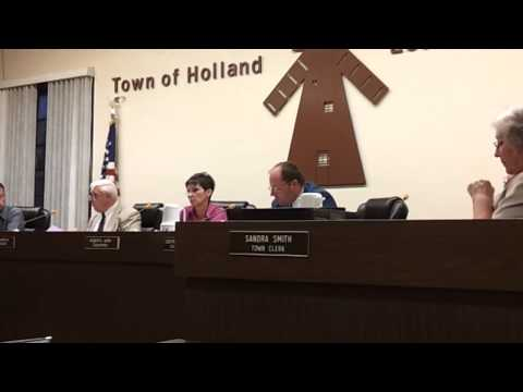 Holland Town passes drilling law