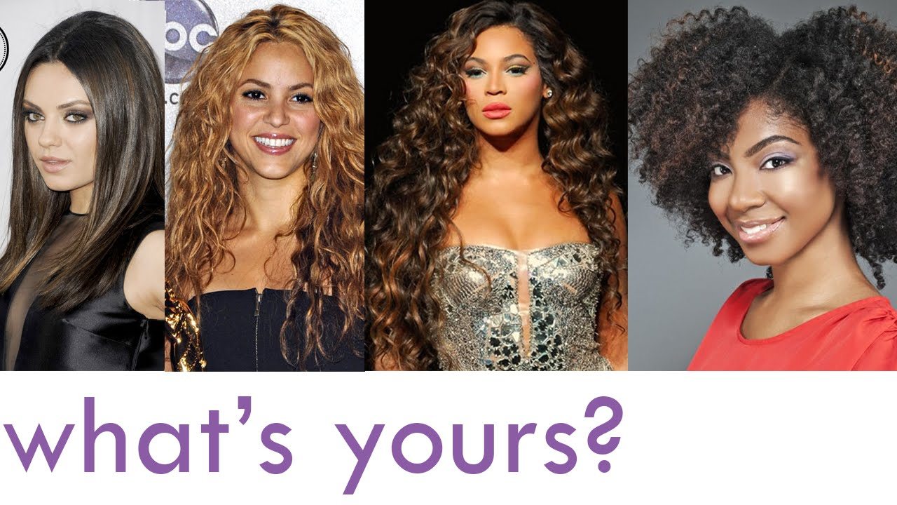 What Is Your Hair Type? - YouTube