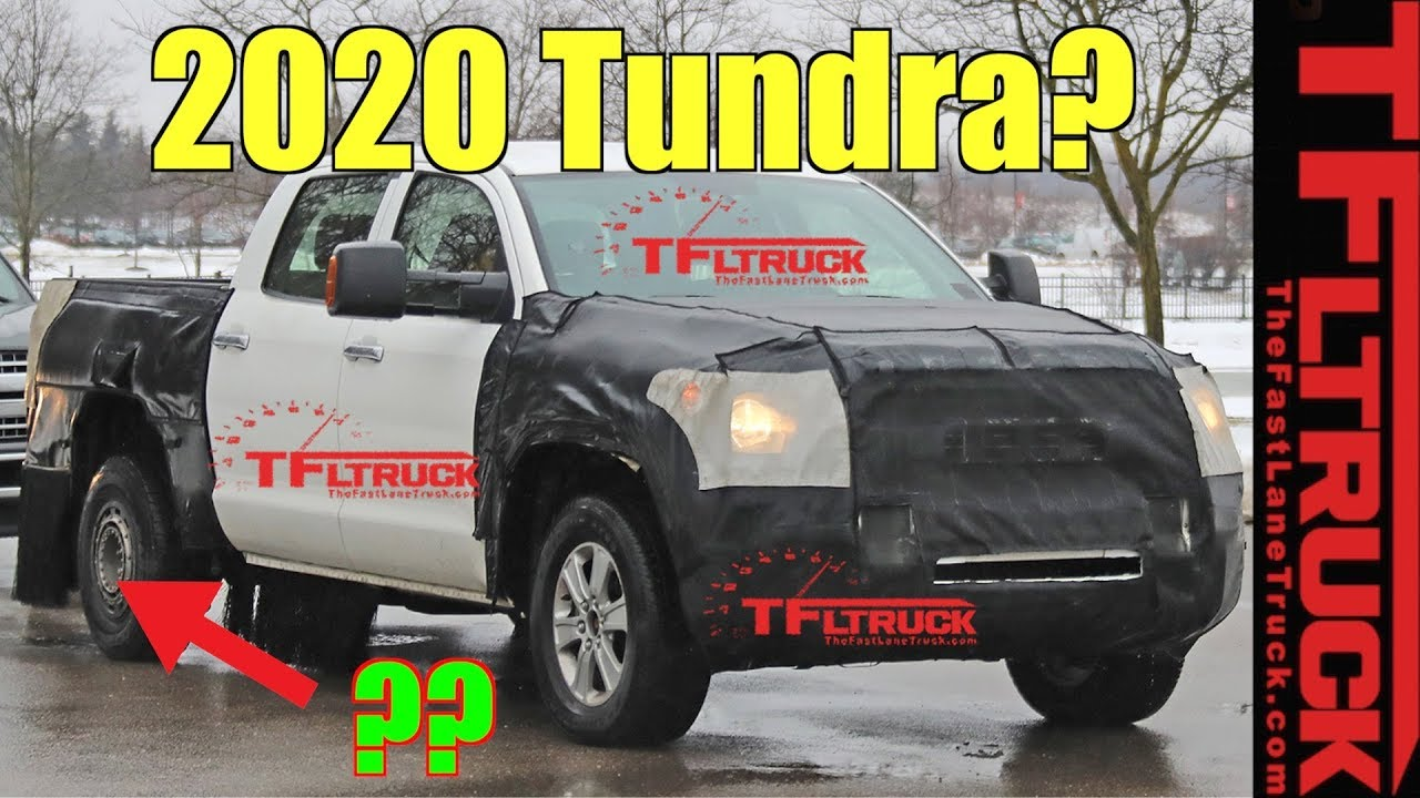 Breaking News: Next Gen 2020 Toyota Tundra: What Are They ...