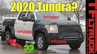 Breaking News: Next Gen 2020 Toyota Tundra: What Are They Hiding?