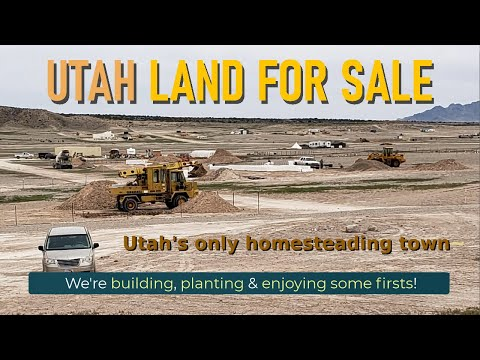 Land for Sale in Utah at Riverbed Ranch - A Modern Homesteading Community!  Late May 2021 Update