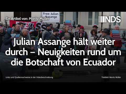 Julian Assange hält weiter durch – Neuigkeiten rund um die Botschaft von Ecuador | Moritz Müller