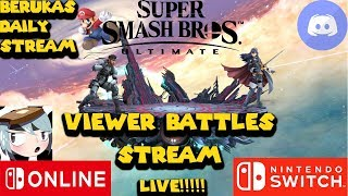 Beruka's Daily Stream R 102: Smash Bros. Ultimate Monday/ VC & Chill