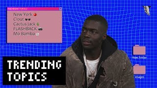 """Sheck Wes on Signing to Cactus Jack, """"Mo Bamba,"""" and Talking Trash to James Harden 