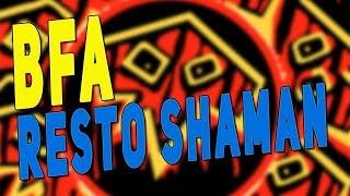 Should You Play RESTO SHAMAN in BfA 8.2.5 or 8.3   Shaman Healing Gameplay & Essence Guide   WoW 8.2